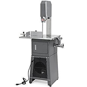 XtremepowerUS Professional Butcher Meat Cutting Cutter Band Saw Mincer Grinder Sausage Stuffer Maker