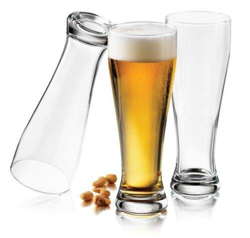 Libbey Giant Pub 22-1/2-Ounce Pilsner Glasses, Set of (Pub Poker Set)