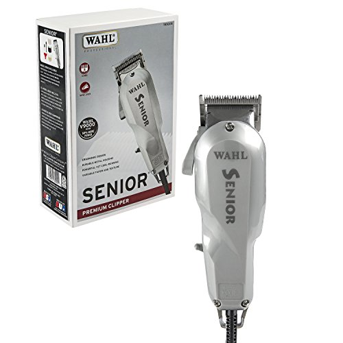 Wahl Professional Senior Clipper #8500 - The Original Electromagnetic Clipper with V9000 Motor - Great for Barbers and Stylists - Perfect for Heavy-Duty Cutting, Tapering, Fades, and Blends