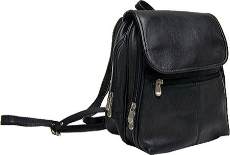 le-donne-leather-everything-womens-backpack-purse-one-size-black