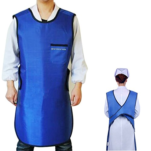 vinmax Lead Free X-Ray Apron 0.35mmPb Lead Free Radiation Dental X-Ray Protection Apron Lap-Guard Lead Lower Body Front Protection and Lead Vest Cover Shield Adult Man ()
