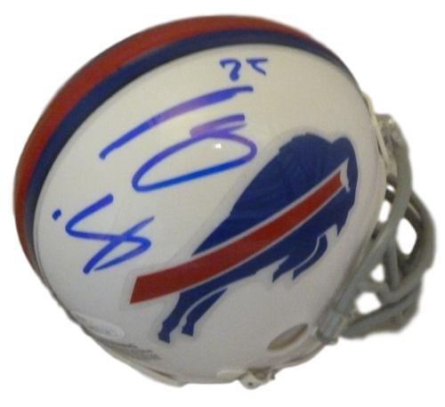 Buffalo Bills Autographed Helmets (Lesean McCoy Autographed Buffalo Bills Mini Helmet JSA)