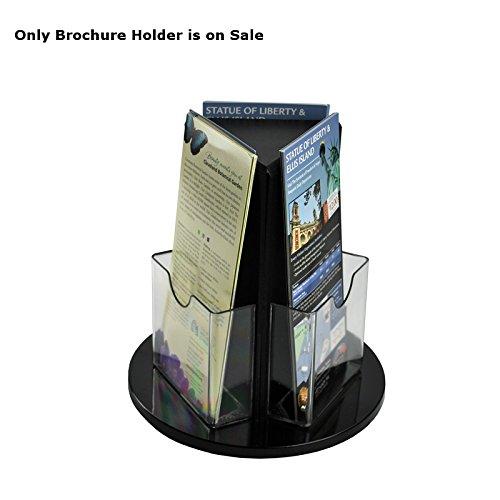 (Tri-fold Size 3-Sided Brochure Holder on a 9
