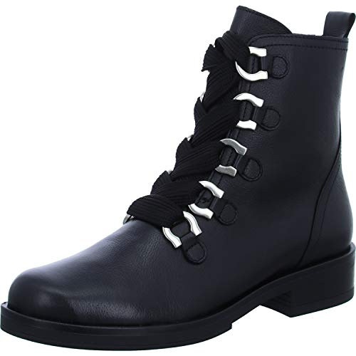 Mephisto Womens Lace - Mephisto Gabor 91.660.20 Black Leather mid-high Boot for Women (6.5(UK) 9(US))