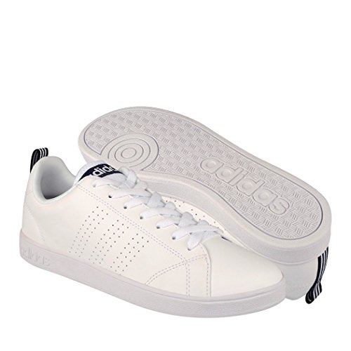 adidas, F99252, Vs Advantage Clean, Tenis Para Hombre, Color Blanco, Talla 8 MEX