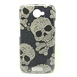 Fantasy Skull Head Pattern Back Cover Hard Case for HTC One S