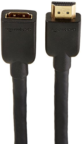 Large Product Image of AmazonBasics High-Speed Male to Female HDMI Extension Cable - 10 Feet