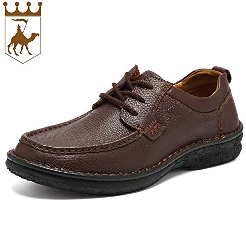 LOVDRAM Stiefel Männer Herbst Und Winter Leder Herrenschuhe Leder Spitze Männer Handgefertigte Schuhe Mode Freizeitschuhe Herrenmode