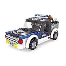 Ausini City Police K-9 Dog Unit 105pc Building Blocks Educational Set Compatible to Lego Parts - Best Gift for Boys and Girls