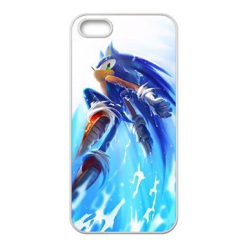 S8F52 Sonic the Hedgehog R5B7HO iPhone 5 5s Handy-Fall Hülle weißen DL8UPD6KH decken