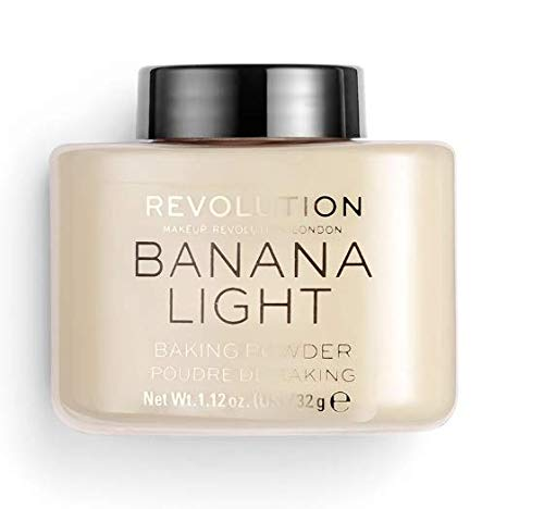 Makeup Revolution Loose Baking Powder ~ Banana Light