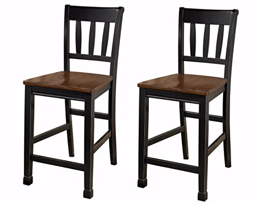 wood bar stools with backs - 8