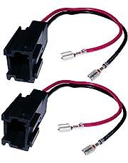 AERZETIX - Aansluitingen voor 2 x luidspreker voor auto
