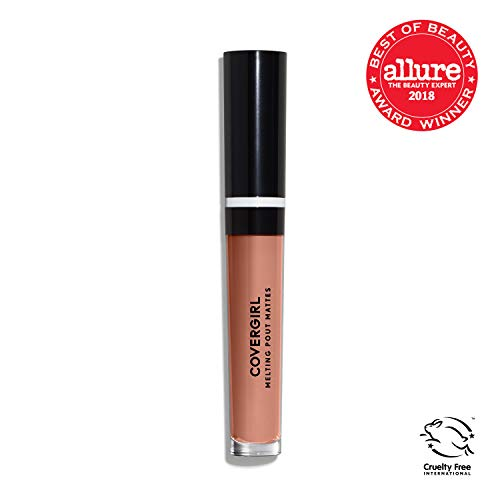 COVERGIRL Melting Pout Matte Liquid Lipstick, Current Nude, 0.11 Pound (packaging may vary)