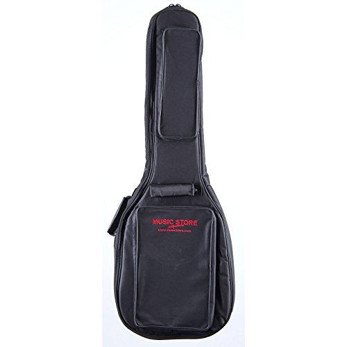 """Deluxe"" Funda Guitarra eléctrica Logo Negro/Rojo"