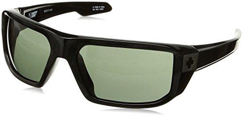 Spy Optic McCoy Flat Sunglasses, Black/Happy Gray Green, One - Mccoy Spy