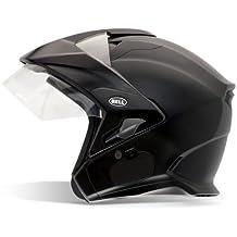 Bell Mag-9 Unisex-Adult Open face Street Helmet (Solid Matte Black, Large) (D.O.T.-Certified)