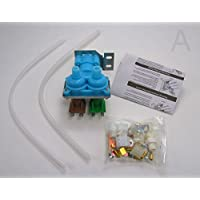 2181730 - Quality Replacement Dual Water Valve Kit for Refrigerators with Water Dispenser and Ice Maker. Fits Whirlpool, Kenmore, Maytag, KitchenAid, Amana, Admiral, Magic Chef, Norge, Roper. (Installation Instructions Inluded in Kit) by ProSupply