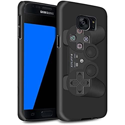 STUFF4 Matte Tough Shock Proof Phone Case for Samsung Galaxy S7/G930 / Playstation PS3 Design / Games Console Collection Sales