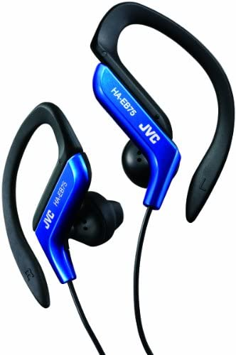 JVC HA-EB75A Sports Ear Clip Headphones Blue HAEB75 earphones Genuine
