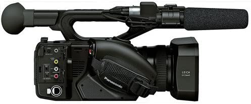 Panasonic AG-UX90 4K//HD Handheld Camcorder Accessory Kit with 2 x SDXC Memory Cards Carrying Cse Filter Kit Gaffer Tape and More Extra Battery Pro Headphones