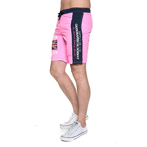 Geographical Norway - Quodesh Men Badeshort (S, F-PINK)