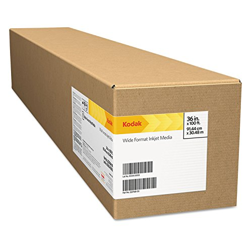 Professional Inkjet Photo Paper Roll, Luster, 10.9 Mil, 10'' X 328 Ft, White By: Kodak by Office Realm