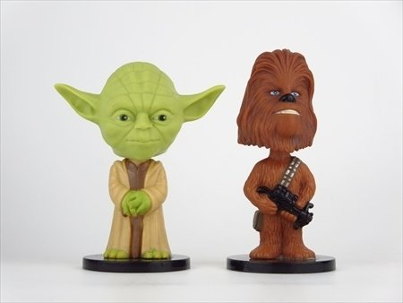 Yoda and Chewbacca set [STARWARS ( Star Wars )] FUNKO ( Fanko ) Mini Wacky Wobbler ( Mini Wacky Wobbler ) bubble head
