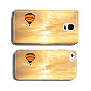 Hot air balloon over the sea at sunset cell phone cover case iPhone6 Plus