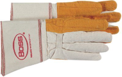 Gauntlet Cuff Chore Gloves (Gauntlet Cuff Chore Gloves - large golden brown choreglove clute cut c [Set of 12])