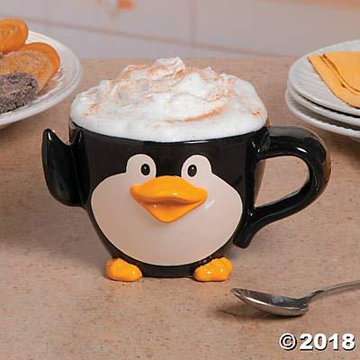 Ceramic Penguin Mug