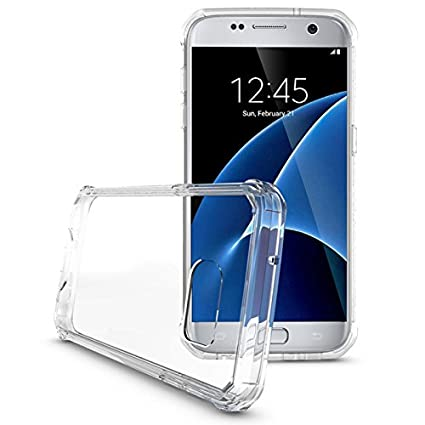 Amazon.com: Carcasa de acrílico para Samsung S7 Air, híbrida ...