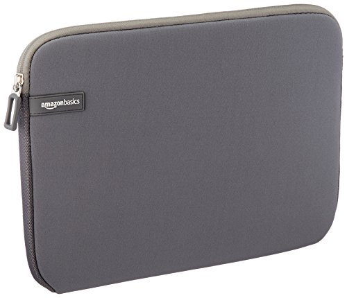 AmazonBasics 11 6 Inch Laptop Sleeve Grey
