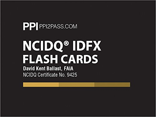 NCIDQ IDFX Flash Cards