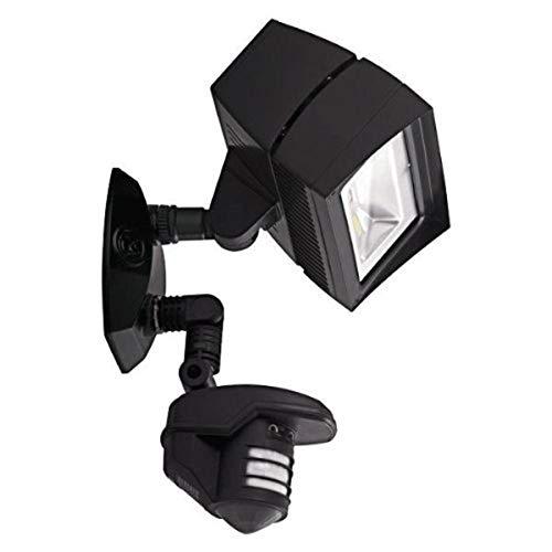 RAB STL3FFLED18 18W LED Security Light, 360 Motion Sensor, 5000K Cool , 120V, Bronze, Hardwired, Multi