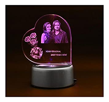 Buy Fusion Crystals Personalised 3D Photo Crystal
