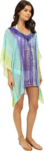 Trina Turk Women's Nomad Tie-Dye Cover-Up Tunic