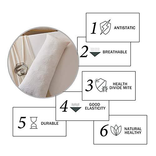 DOWNCOOL Memory Fiber Filling Body Pillow