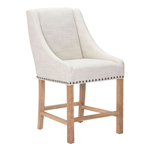 Zuo Indio Counter Chair, Beige