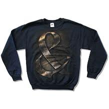 "Bravado Adult Of Mice & Men ""Iron Age"" Navy Blue Crewneck Sweatshirt"