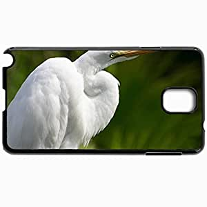 Customized Cellphone Case Back Cover For Samsung Galaxy Note 3, Protective Hardshell Case Personalized Heron Black