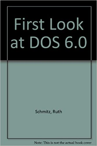 First Look at DOS 6.0