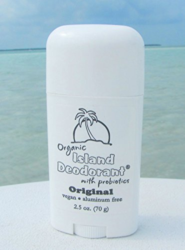 Organic Island Deodorant, 2.5 oz Probiotic Deodorant Stick, Natural, Aluminum-free, Unscented, Vegan (Single Stick) by Island Deodorant (Image #4)