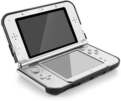 New 3DS XL Case - MIFAVOR Plastic Aluminium Full Body Protective Snap-on Hard Shell Skin Case Cover for New 3DS 2015 (New 3DS XL Silver)