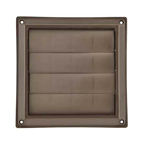 4 inch dryer vent cover brown - 2