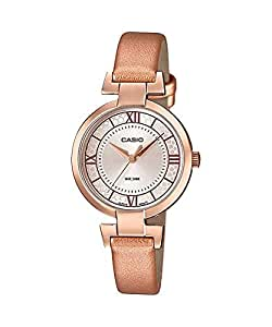 Casio Dress Watch For Women Analog Leather - LTP-E403PL-9A1