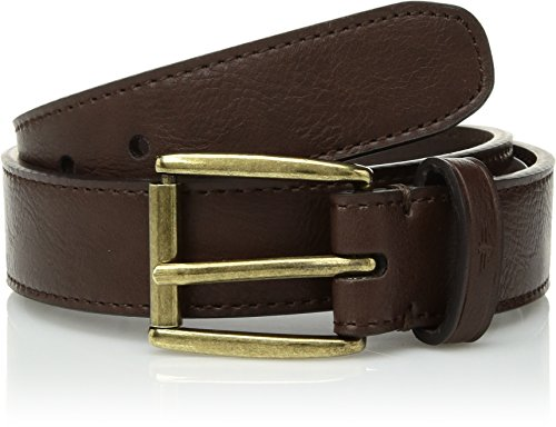 Dockers Big Boy's Casual Belt with Roller Buckle , brown, Large ()