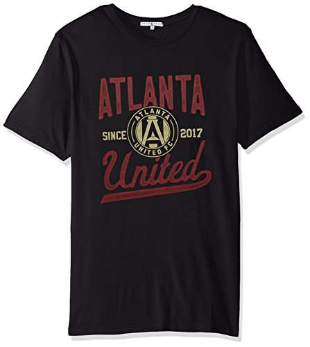 - Junk Food MLS Atlanta United Men's Short Sleeve Crew Neck Tee, XX-Large, Trek