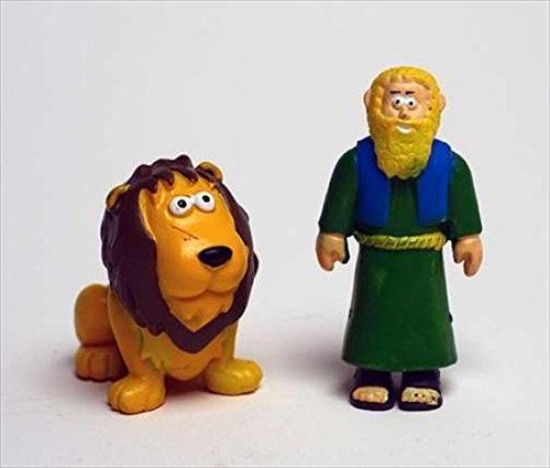 Toy - Action Figure - Beginners Bible - Daniel And Lion by Renewing Minds