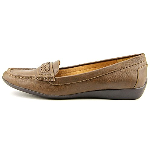 American Living Womens Ulyssa Moc Toe Loafer, Brown, Size 7.0 US